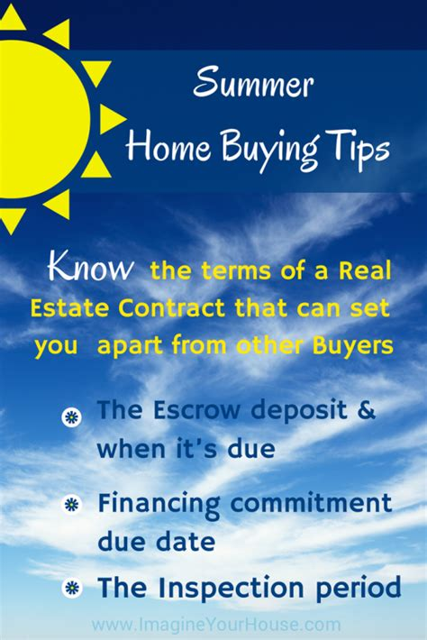 tips in buying a house are you ready for some summer home buying tips