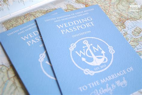 wedding invitations for marrying abroad passport wedding invites wedfest