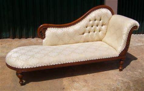 ottomane oder recamiere wundersch 246 ne recamiere ottomane mahagoni kaufen