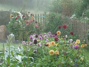 wildflower garden love the basket weave fence country pinterest gardens the o jays