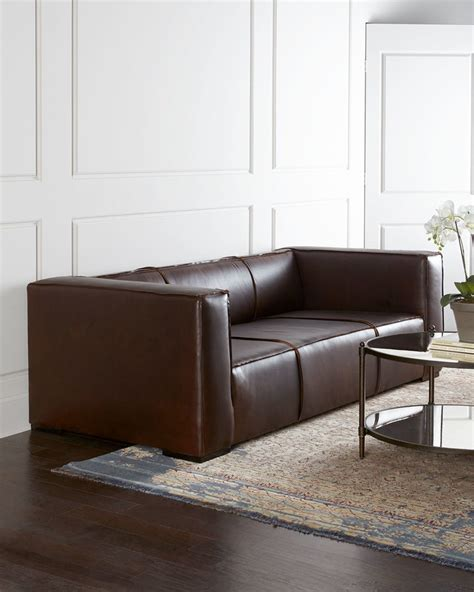 hickory tannery sofa hickory tannery mathis leather sofa leather sofa guide