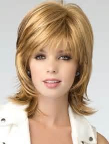 shoulder length layered cut mono top full lace human hair