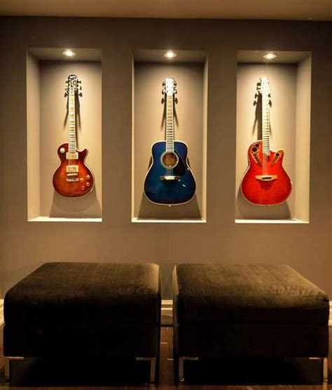 is it ok to hang guitars on wall hanging guitars on wall photos wall and door