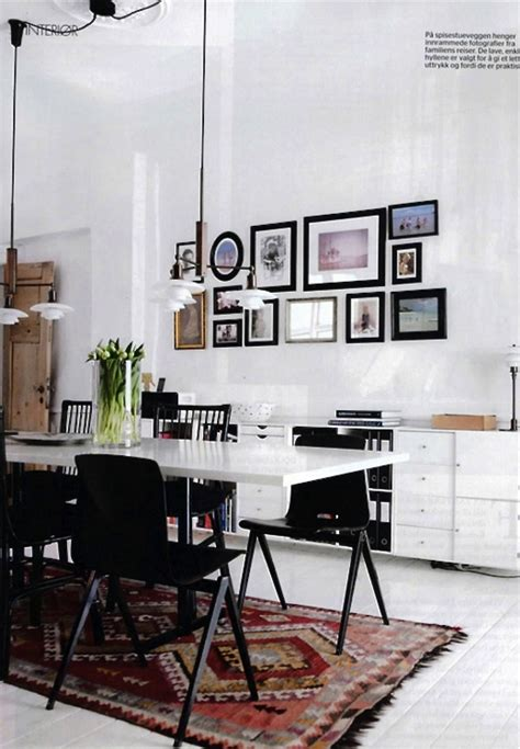 Dining Room Kilim Rug 12 Kitchens Dining Rooms Made Cozy With Kilims Design Milk