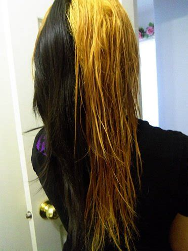 how to dye the top half of your hair bleaching 101 how to bleach black hair