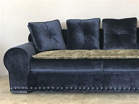 navy slipcovers navy sofa slipcover navy blue sofa comfort works custom
