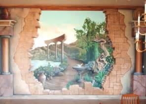 Wall Mural Gallery Broken Wall Mural By Gallery Of Art On Deviantart