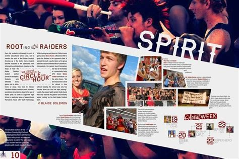 yearbook layout behance full picture with white bar over graphic design