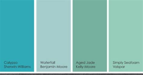 suggested watery blue green paint picks blue greens been popular for a while now whether