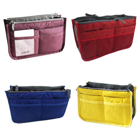 Dual Bag In Bag Organizer Hhm024 dual bag organizer mp3 phone cosmetic book storage bag in bag handbag ct ebay