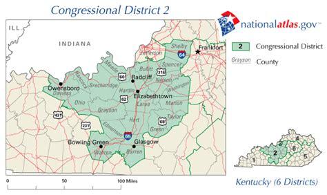 kentucky map glasgow glasgow kentucky congressional district and us representative