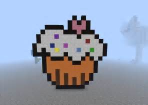 mine craft cupcake minecraft project