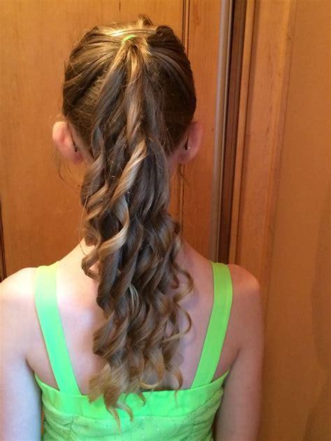 grade graduation double pony tail hairstyles