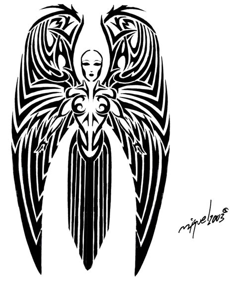 gothic angel tattoo designs tattoos page 37