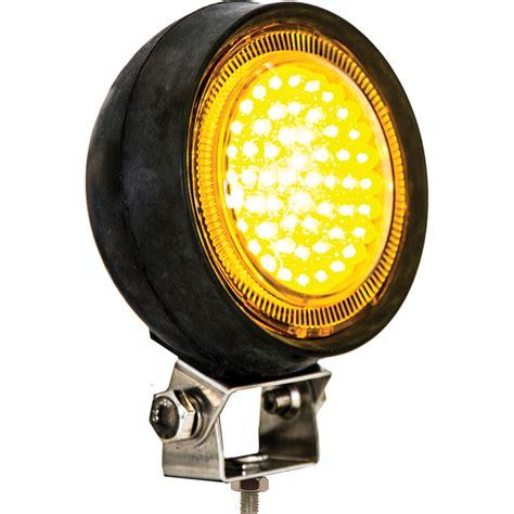 utility lights for trucks buyers 1492111 5 quot 54 led amber utility light 36 77