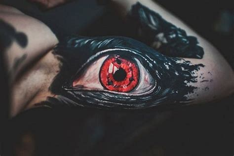 sharingan tattoo designs top 10 realistic eye tattoos