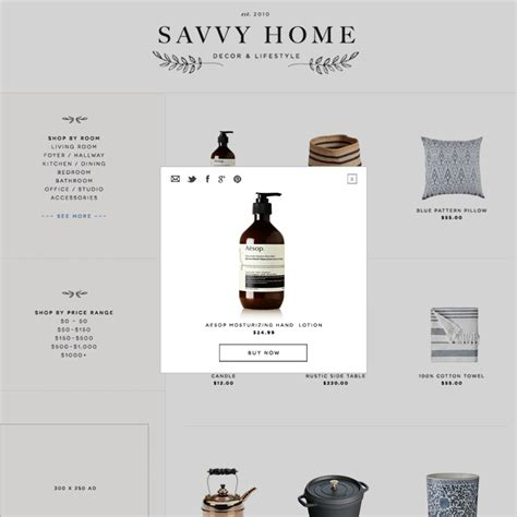 recent work savvy home branding web design veda house