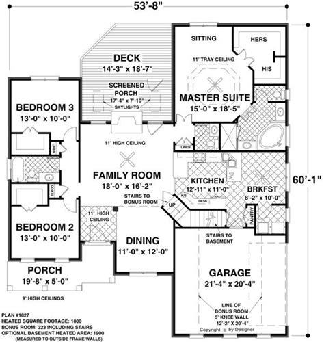 single level floor plans 171 unique house plans