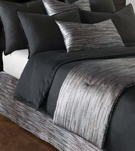 bed scarf niche luxury bedding by eastern accents horta pewter bed