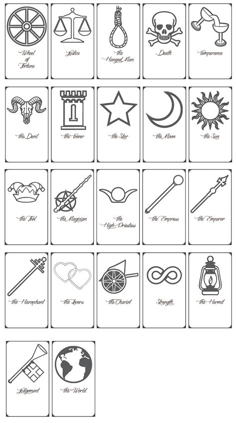 tarot card template for printing free printable tarot cards by keniakittykat on deviantart