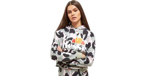 Hoodie Same Is Lame Leo Cloth lyst ellesse leo crop hoodie