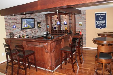pin by blue moon construction on custom bar and built in