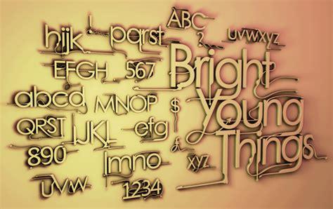 dafont young bright young things font dafont com