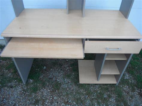 multi level computer desk multi level computer desk duncan cowichan