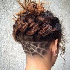 ladies undercut pattern awesome undercut ideas for every girl for women awesome