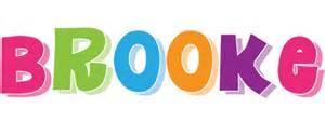 brooke logo name logo generator i love love heart