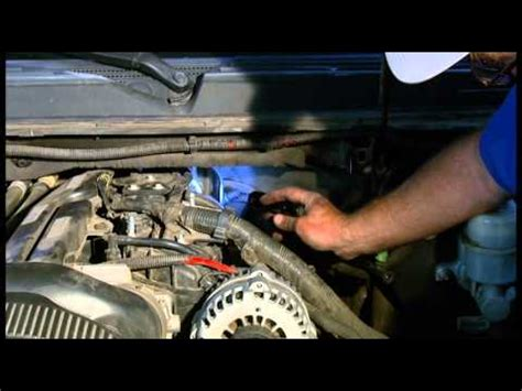 how to change an oil sending unit on 2007 2014 chevrolet