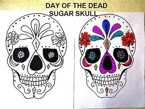 day of the dead skull mask template sugar skull masks coloring pages