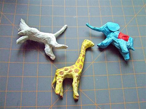 How To Make A Paper Mache Model - easy paper mache circus animals 183 how to make a papier