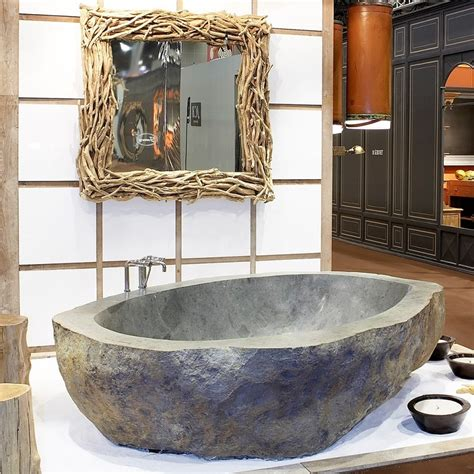 natural stone bathtubs luxurious bathrooms the most stunning natural rock bathtubs