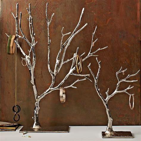 west elm tree cast metal jewelry tree large jewelry tree