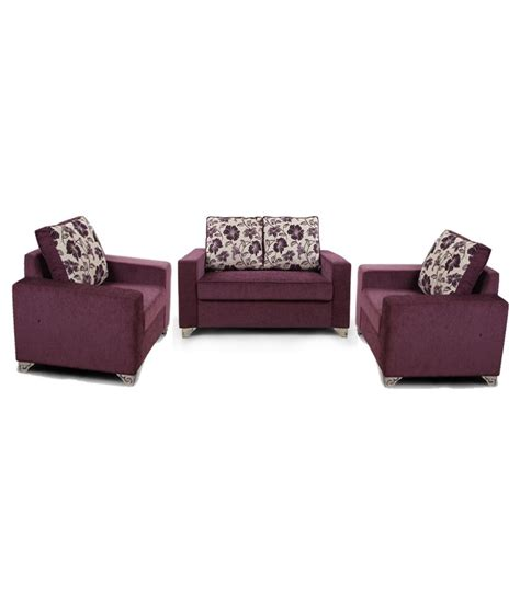 purple sofa set arra lexus sofa set purple 2 1 1 buy arra lexus sofa set