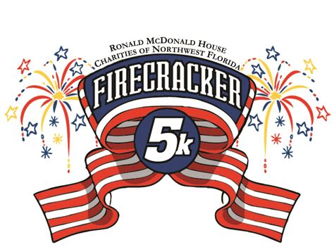 ronald mcdonald house pensacola fl ronald mcdonald house firecracker 5k pensacola florida 5k kids run fun run