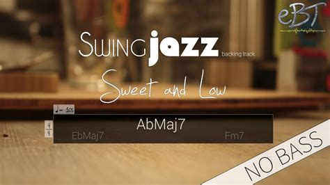 Minor Swing Backing Track by Swing Jazz Backing Track In C Minor 165 Bpm No Bass