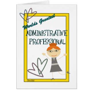 Administrative Day Card Template by Administrative Professionals Day Cards Administrative