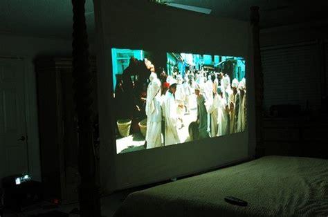 projector in bedroom diy rear projection bedroom tv project make