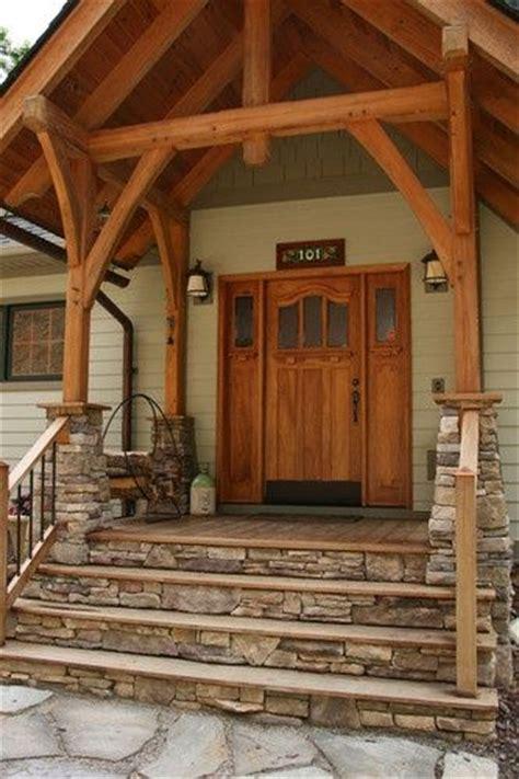 home entry landscape front porch steps porch steps