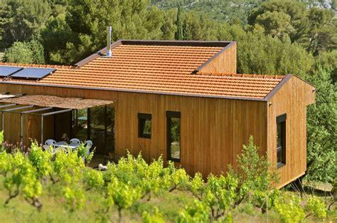 Facade Maison En Bois 4037 by Bardage En Bois Douglas Par Piveteau Bois Wood House