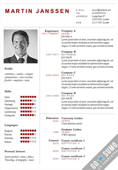 education curriculum vitae