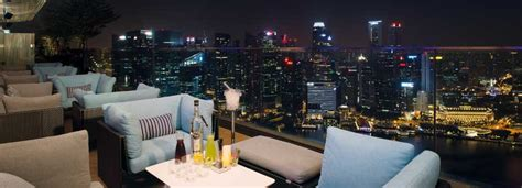 bar on top of marina bay sands rooftop bars in singapore marina bay sands