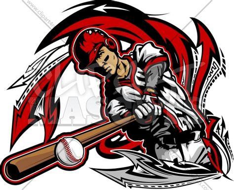 Cool Baseball Artwork Graphic Vector Logo Baseball Designs