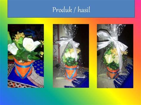 membuat pot bunga  limbah plastik botol plastik