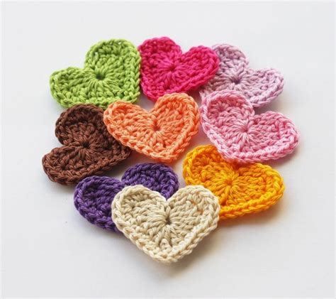 crochet hearts free crochet patterns new calendar template site