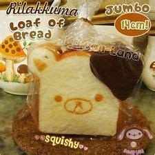 Squishy Licensed Rilakkuma Loaf Jumbo Original Harga Diskon jumbo rilakkuma bread loaf dipped in chocolate cafe