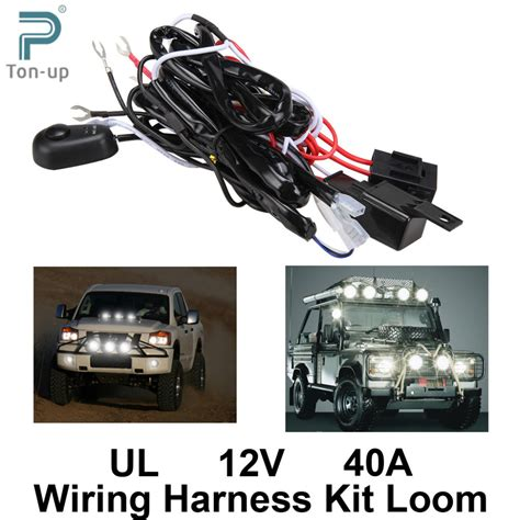 driving lights wiring harness motorcycle chevy wiring