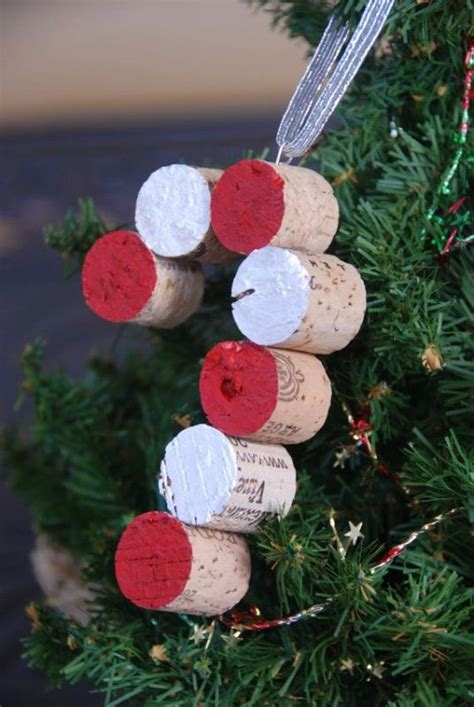 wine cork christmas tree ornaments 25 ideas to make ornaments magment